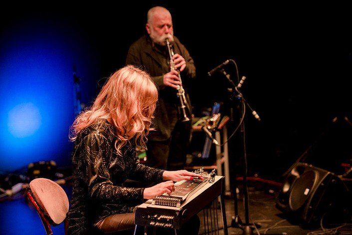 Peter Brotzmann e Heather Leigh