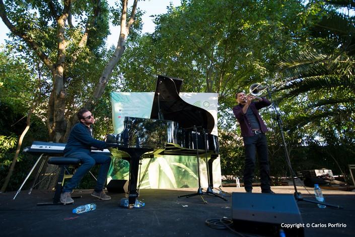 Conversas com pássaros - @Jazz.pt Artes & contextos JiGG2016 Gianluca Petrella Giovanni Guidi Carlos Porfirio 3 big