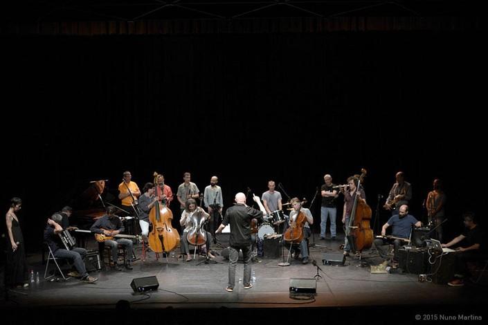 The Rive Gauche Mid Range Orchestra at Centro Cultural da Malaposta